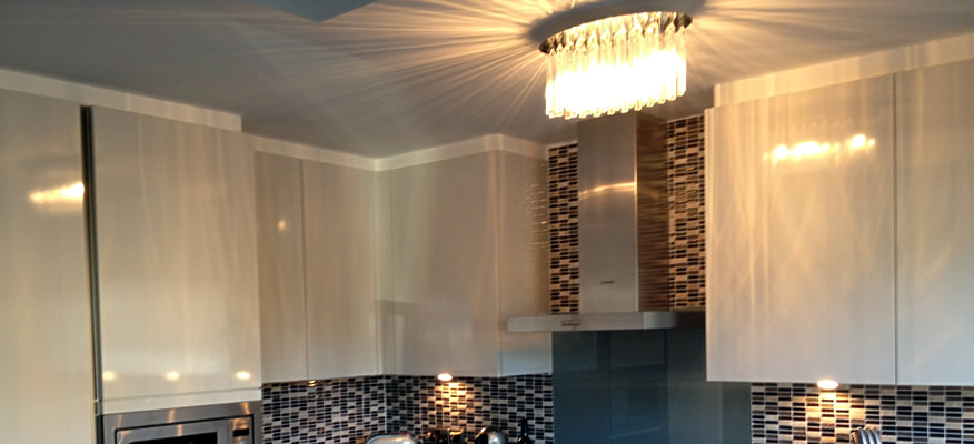 Kitchen Lighting refit feature image