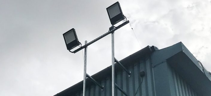 Kirkby Tyres Security Lighting Outside